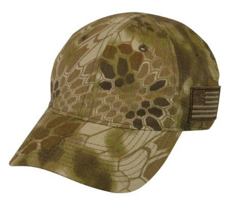 Kryptek Camo Hat with Redfish