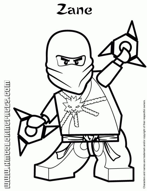 Zane The White Ninja From Lego