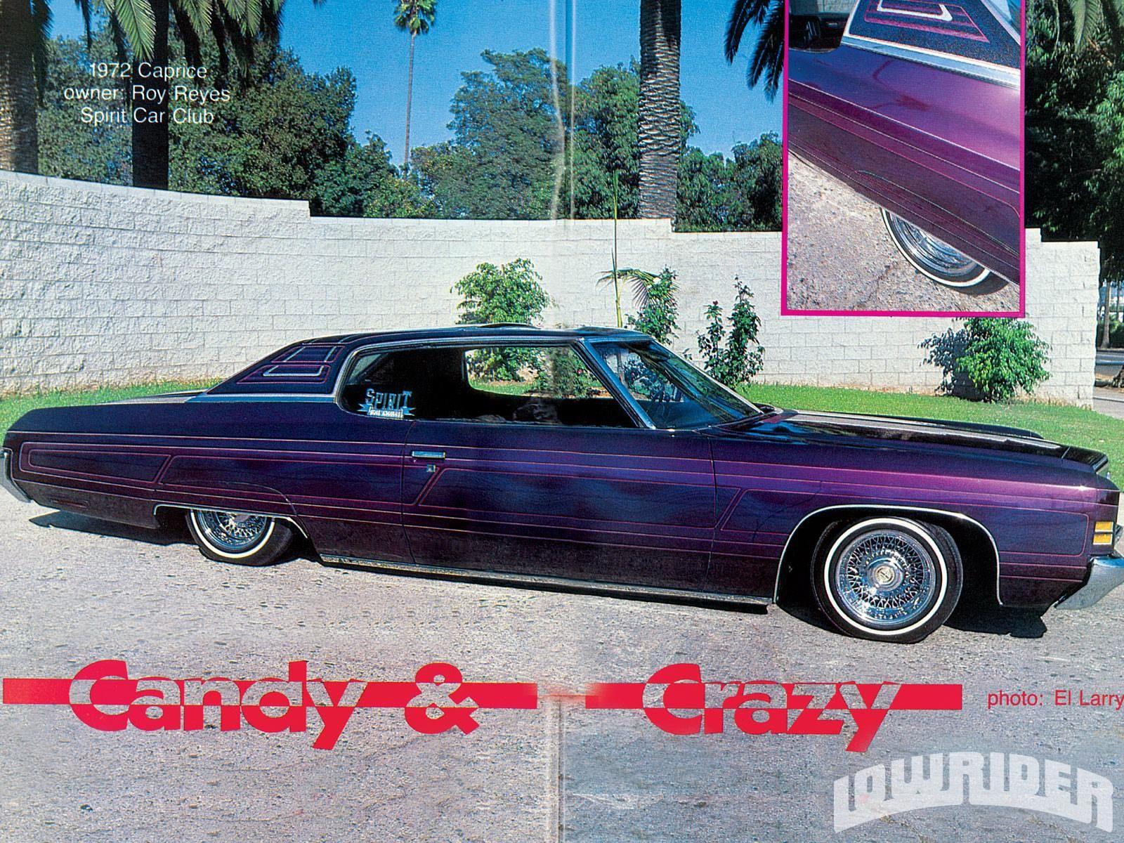 1972 Chevrolet Caprice  | Crager, True rays & 5 20's
