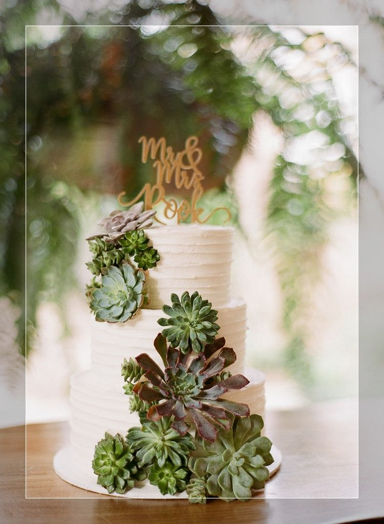 wedding cakeSucculent Centerpieces With Candles Succulent