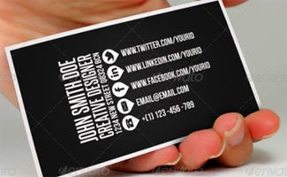 How Can I Effectively Use Social Media For My Business Social Media Business Cards Unique Business Cards Design Business Card Inspiration