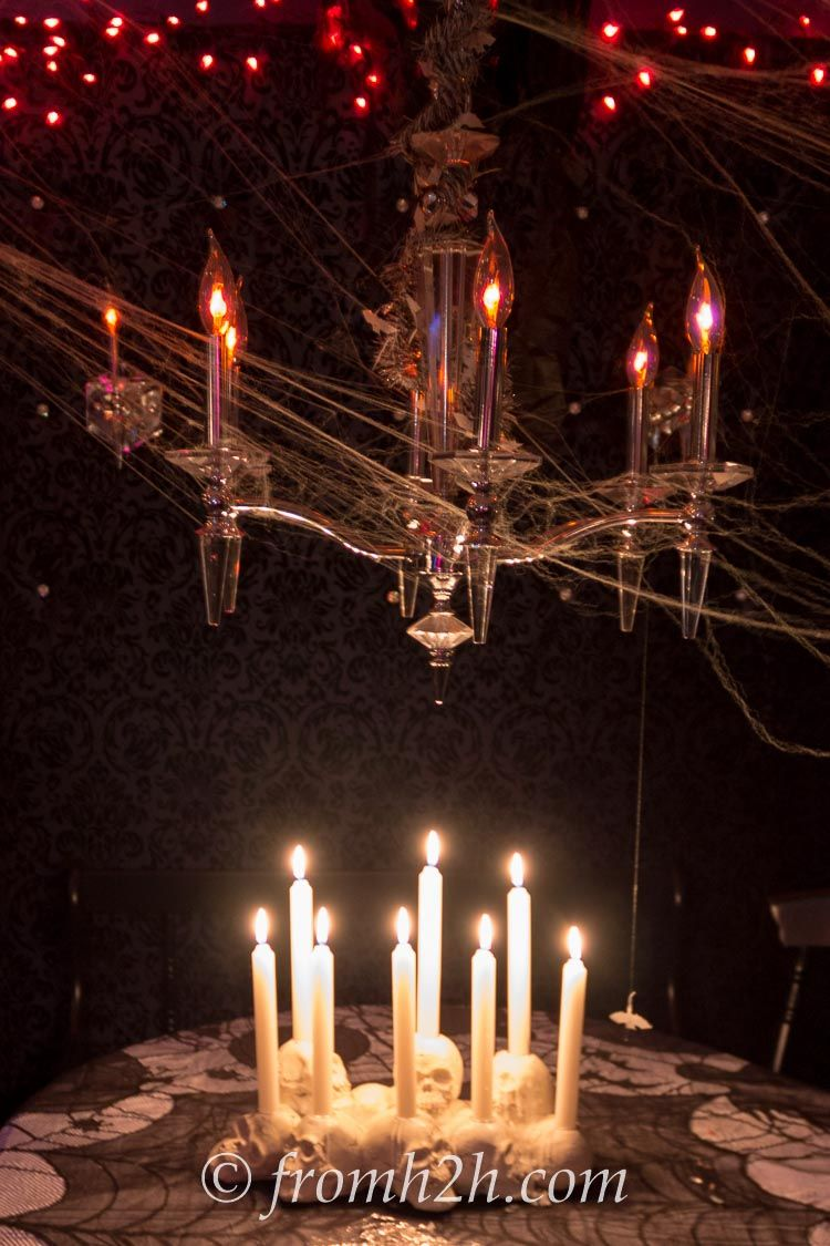 How To Use Candles To Make Your House Look Spooky Halloween Decor - halloween house decoration ideas