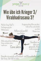 Yoga Anatomie: Virabhadrasana III – Krieger III  So geht Krieger III/Virabhadr... #fitness #fitnesss...
