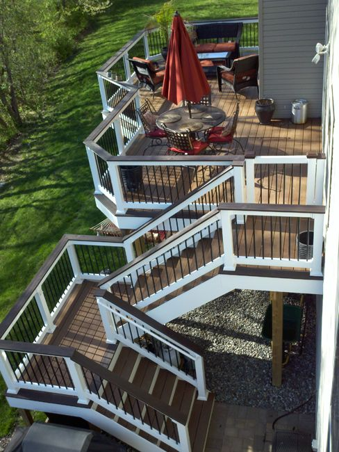 Trex Deck Upper Marlboro Md With With Vinyl Rails And