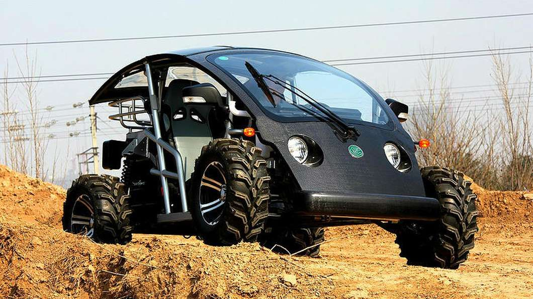 Cruser Sport EVs could be coming to a neighborhood, sand