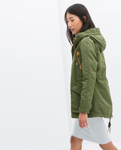 Zara online cazadoras mujer