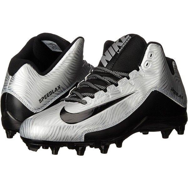 Mens Shoes Nike Speedlax 5 Metallic Silver/Black/Black