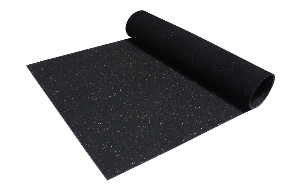 Straight Cut Mats Portable And Durable Home Gym Flooring