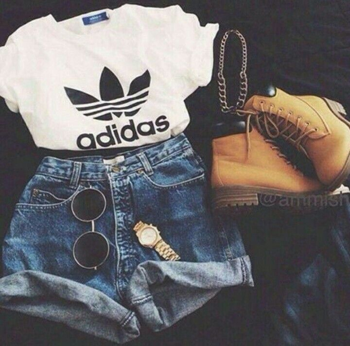 Adidas style | aufits | Summer outfits, Fashion outfits, Fashion