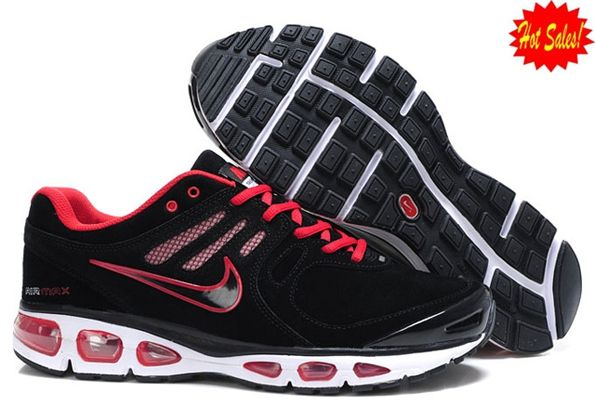 c40b9440ccac Nike Air Max 2010 Shoes Mens Black Red And White 2014 KCUL 295070 ...