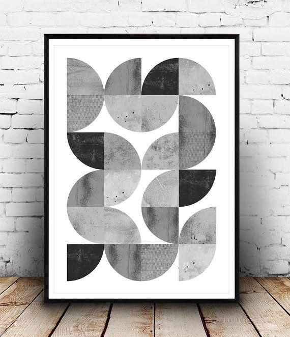 imprimer minimaliste abstraction g u00e9om u00e9trique  publicit u00e9