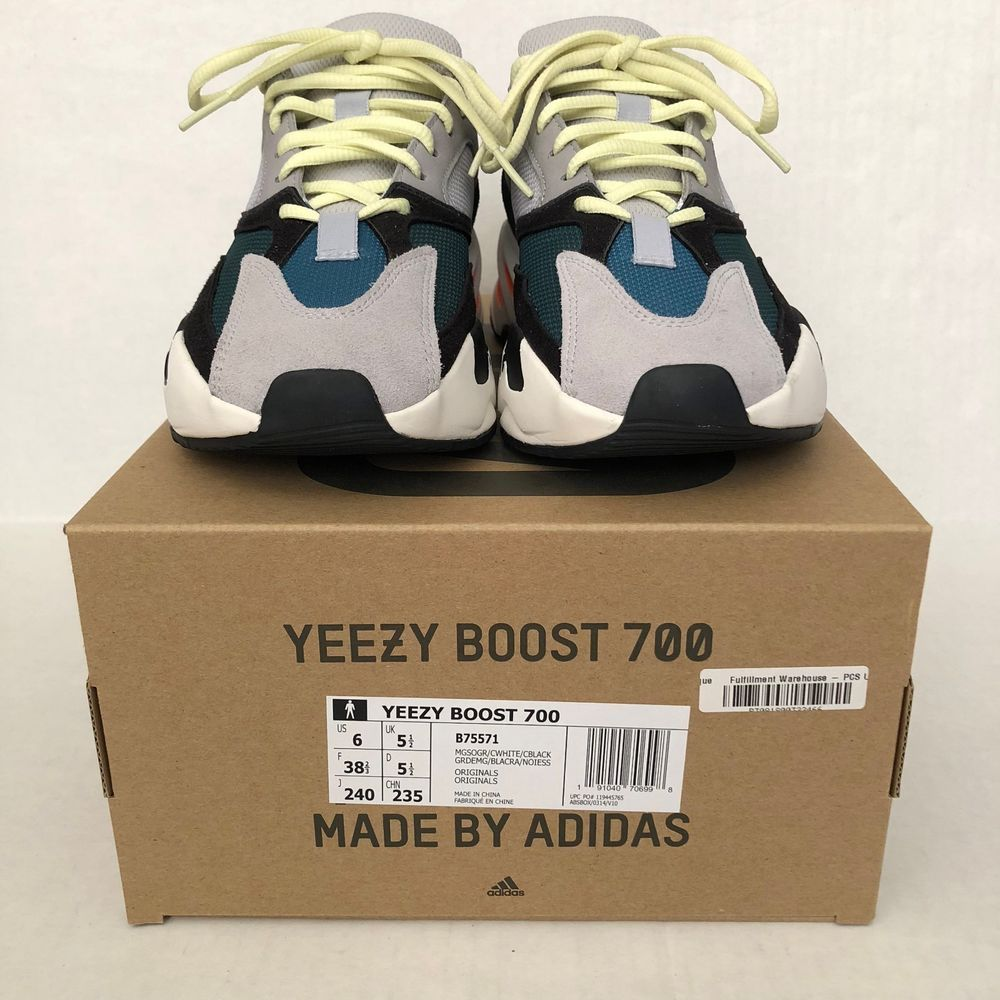 ae7b44ab8 Adidas Yeezy Boost 700 Waverunner Size 6 US P  adidas  AthleticSneakers