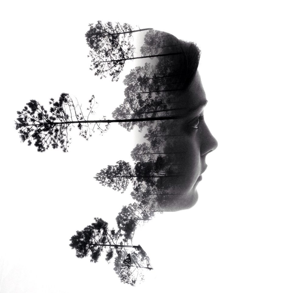 Wisdom for My Children: Life Lessons Through Photos is photographer Brandon Kidwell's series of double exposure photographs that symbolize the advice that he's given to his kids.