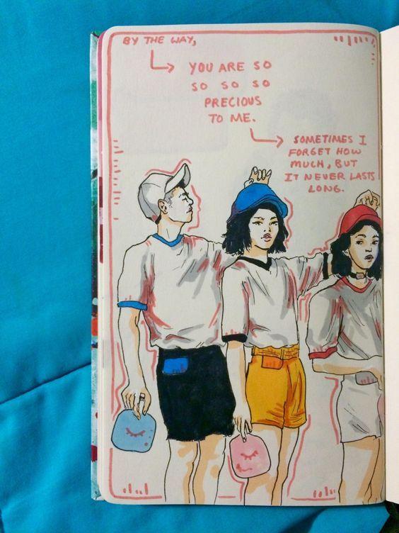 At Cjspaced0ut Journal Aesthetic Art Art Sketchbook Art