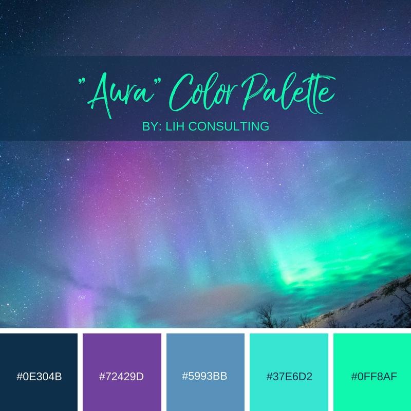 Aura color combinations