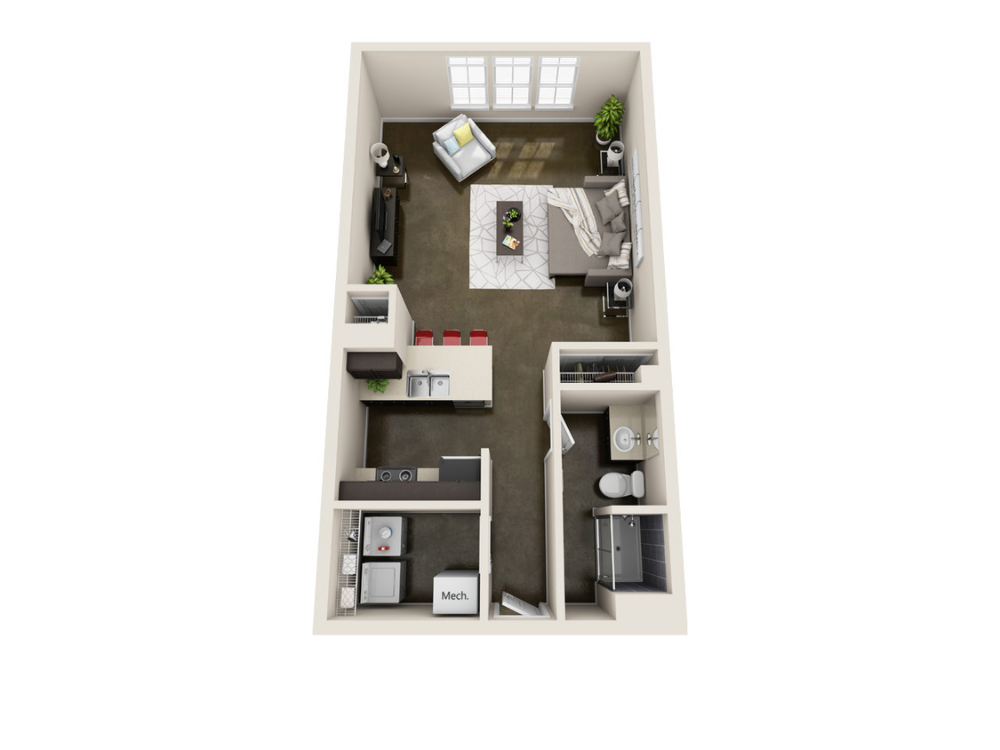 901 Lofts Apartments Lawrence, KS