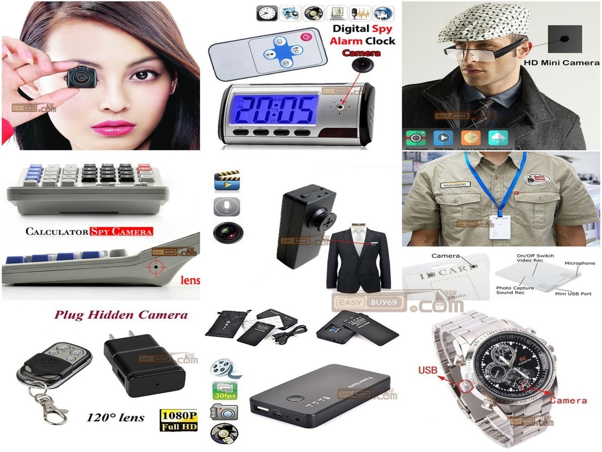 Spy Security Hidden Camera Items ! Shop Now-->http://www.easybuy69.com Or Call For Order ☎ 01876621821 ☎ *S.A Paribahan Parcel এ সমগ্র বাংলাদেশে ৭৩ টি লোকেশনে কন্ডিশনে পণ্য নিন,পণ্য হাতে পেয়ে মুল্য পরিশোধ করুন All of our products are 100% same as the photos, what you see is what you get! All the products we offer have high quality and competitive price