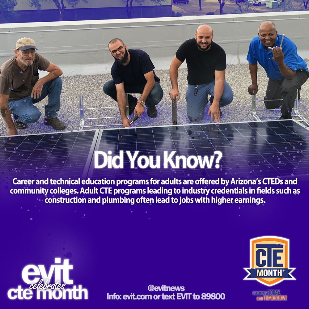 DID YOU KNOW? Career and technical education programs for
