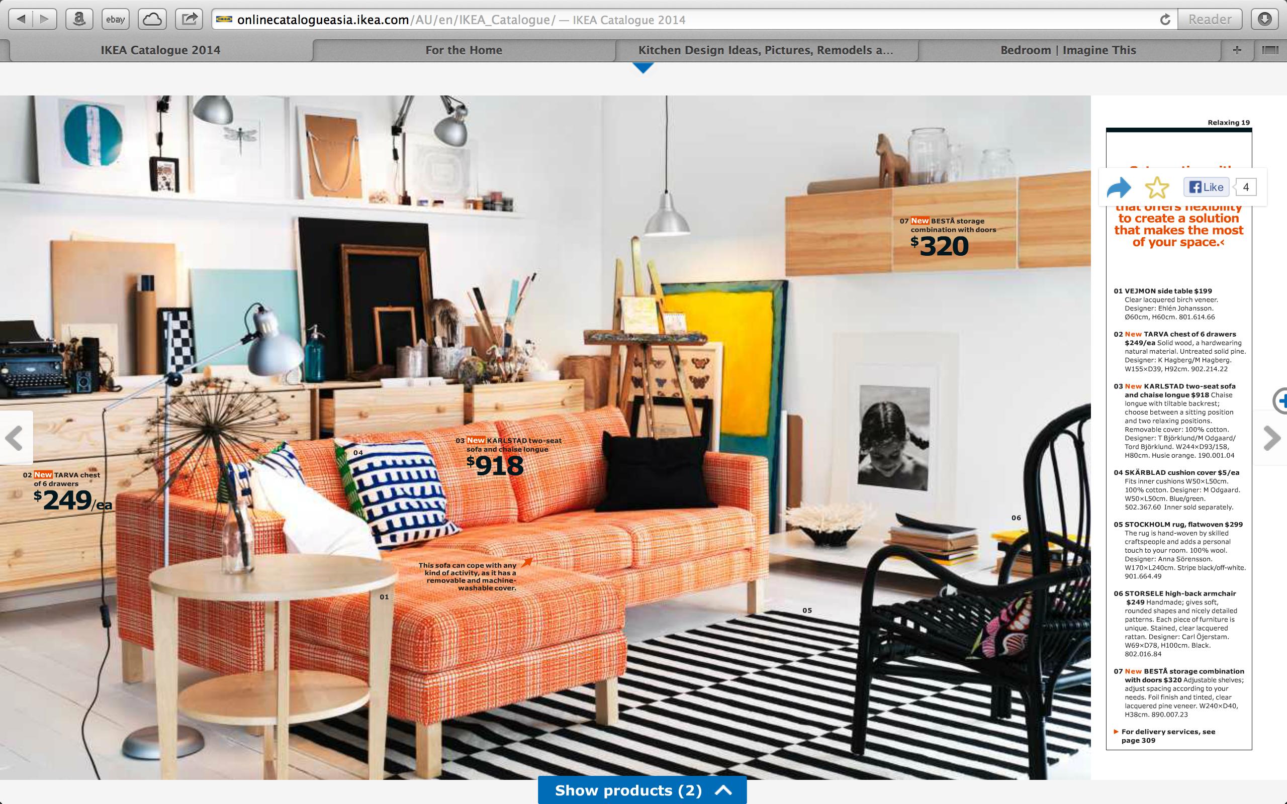 Playful Living Room.