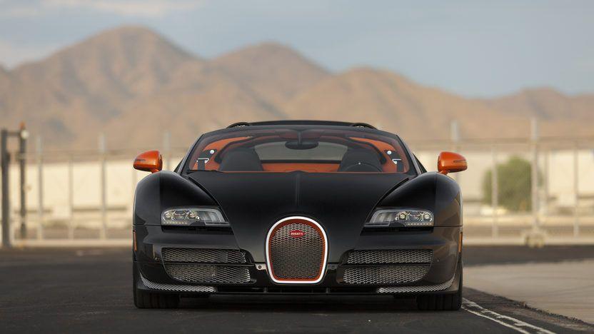 2015 Bugatti Veyron Grand Sport Vitesse Sold At Mecum Monterey 2017