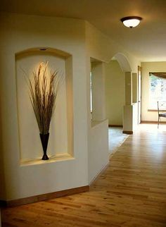 Home Remodeling Improvement Idea Alcoves Art Niche