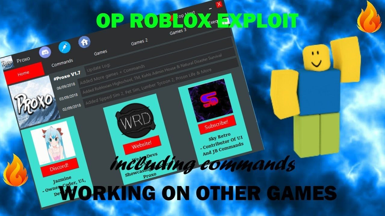 Op Roblox Hack Exploit Cmds Work On Other Games With
