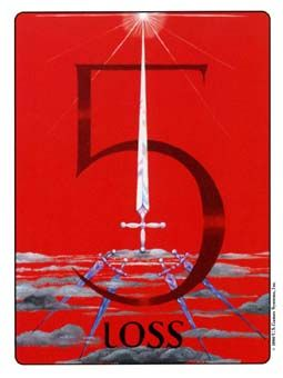 Image result for 5 of wands gill tarot deck