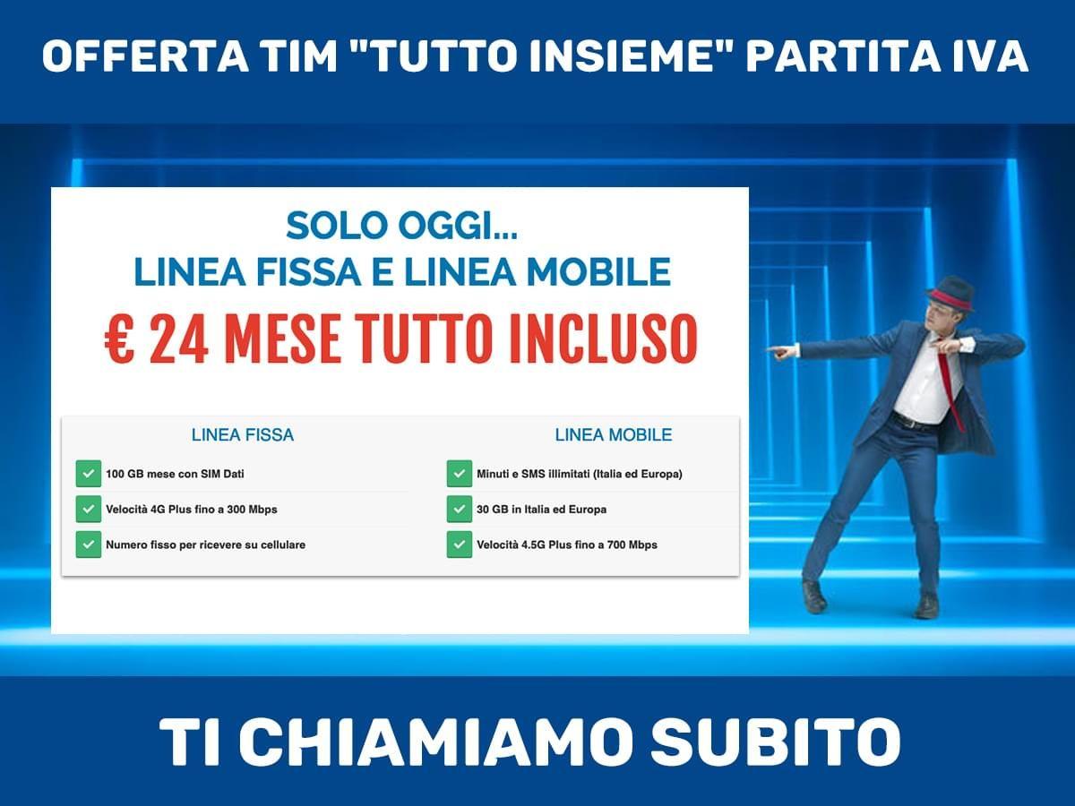 Solo Oggi Linea Fissa E Linea Mobile A 24 Euro Mese Tutto