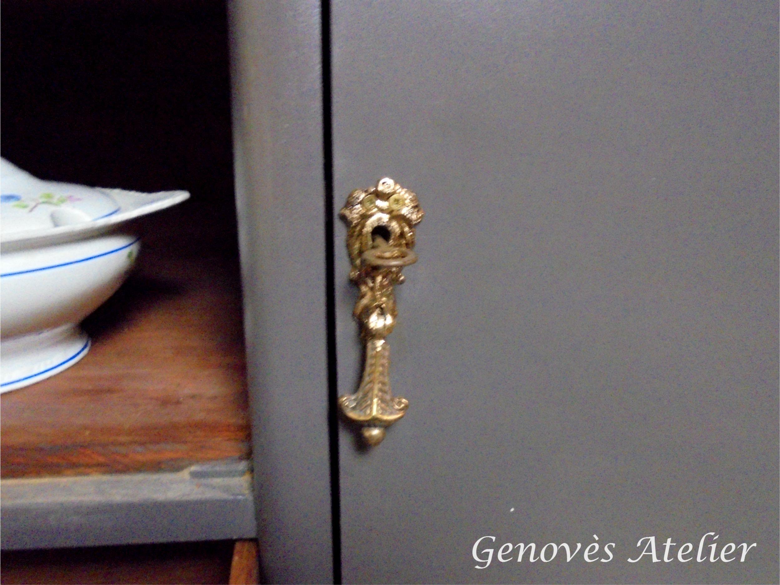 Cerradura mueble modernista Genoves Atelier