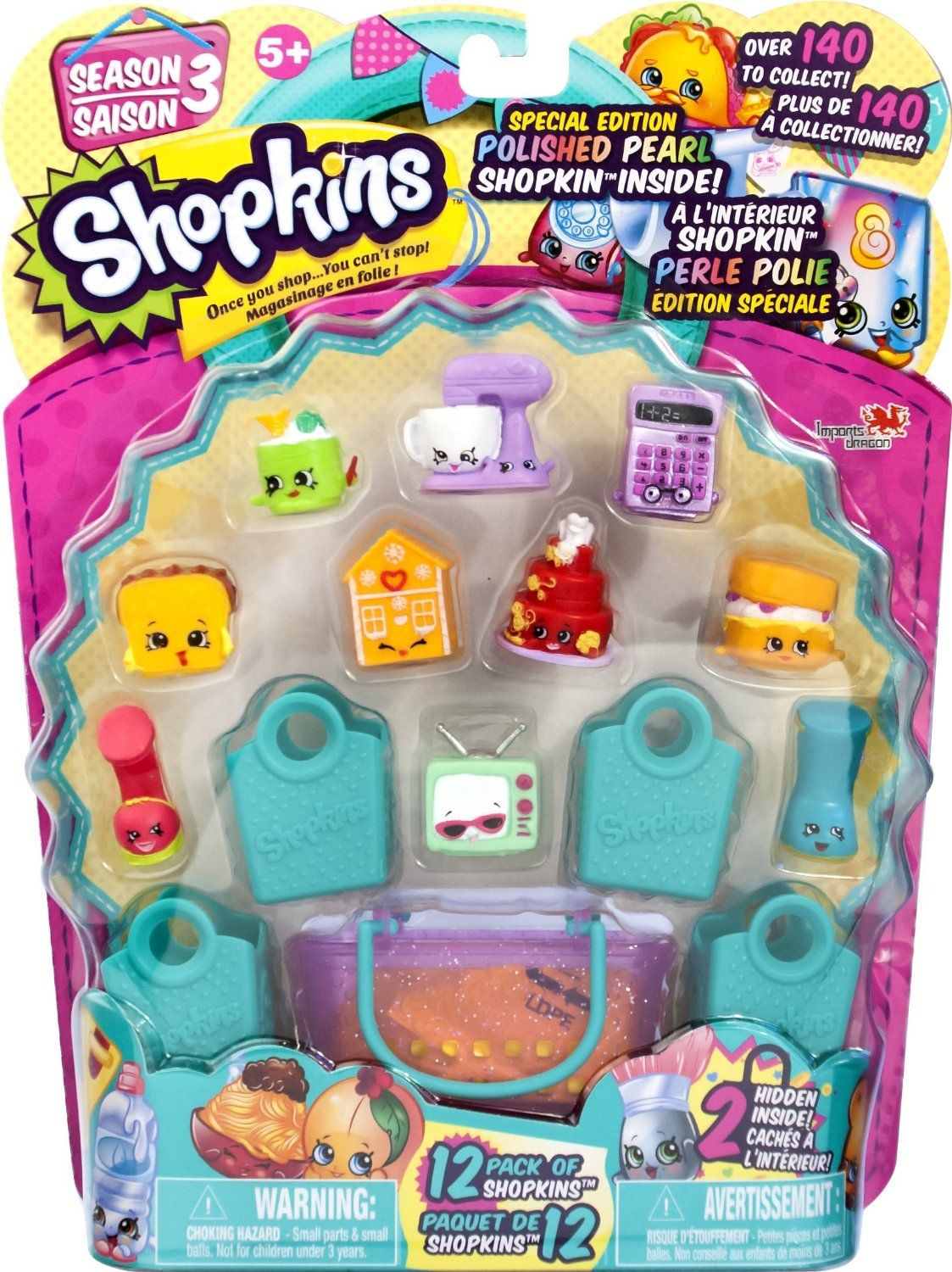 23 Shopkins 12 Pack S3 Playset, Playsets Amazon