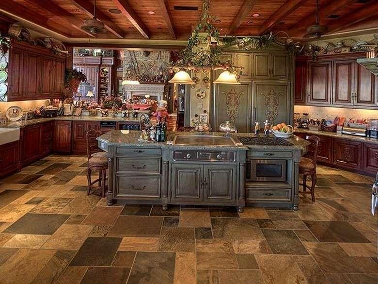 Arredare in stile toscano - Cucina decorata in stile toscano ...