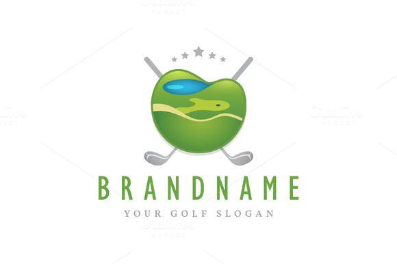 Golf Course Emblem logo @creativework247 | Logo Design - Logo Design on golf t-shirt logo design, baseball skull tattoo design, golf club embroidery design,