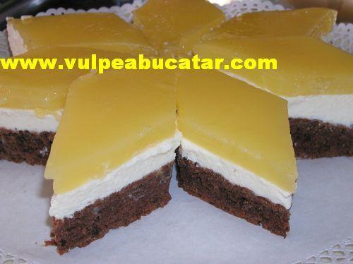 Prajitura Cu Fanta Si Branza Food Desserts Cooking