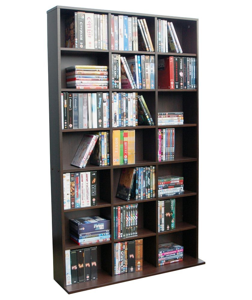 Buy Pigeon Hole Media Storage Unit - Dark Oak at Argos.co.uk - Your Online Shop for CD, video and DVD storage.