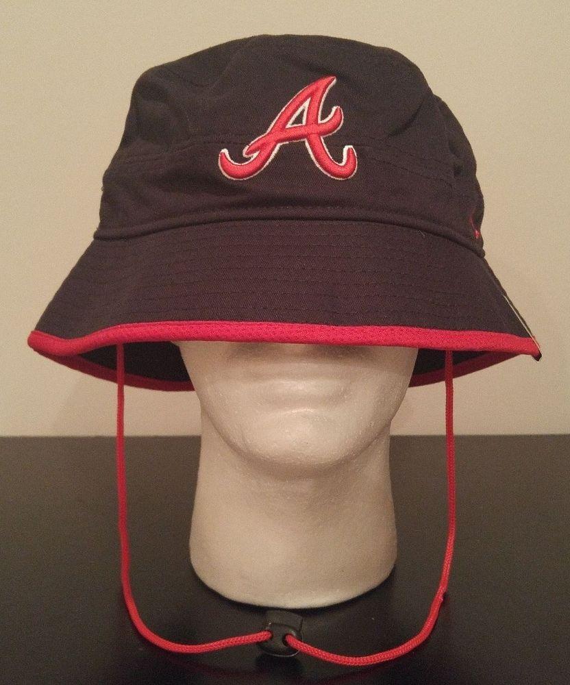 9104283a8c9788 NEW ERA Atlanta Braves Basic Action Bucket Fishing Hat Adult MLB Baseball  ATL #NewEra #AtlantaBraves