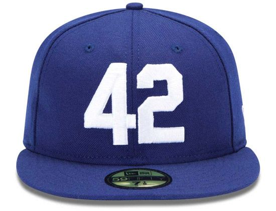 be668c81119 NEW ERA x MLB「Brooklyn Dodgers American Legend Collection 42」59Fifty Fitted  Baseball Cap