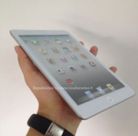 If the iPad mini really exists, it may look like this  in your hand !