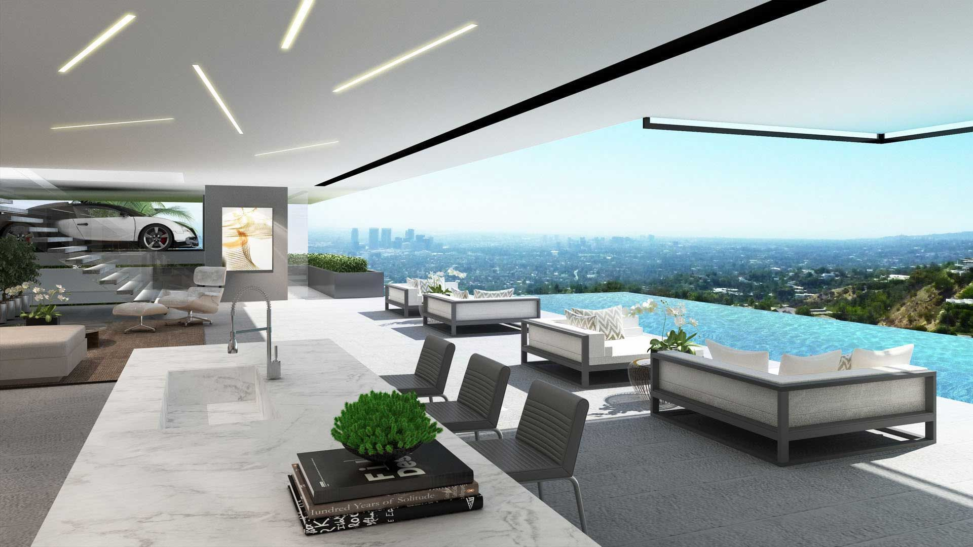 Luxury ultramodern mansions on sunset plaza drive in los angeles http www caandesign com luxury ultramodern mansions sunset plaza drive los angeles