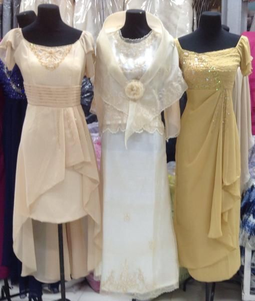 Wedding Dresses For Ninang : Filipina dresses in nice colors ads weddings and gowns