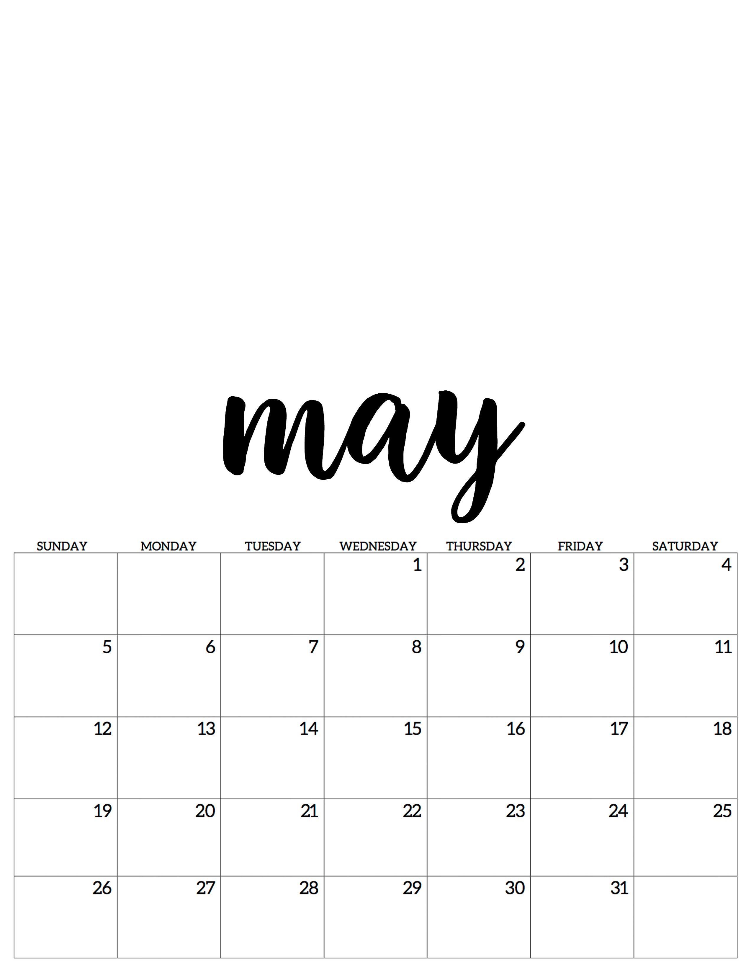 May Mai Kalender Calendar 2019 Calendar Kalender Mai