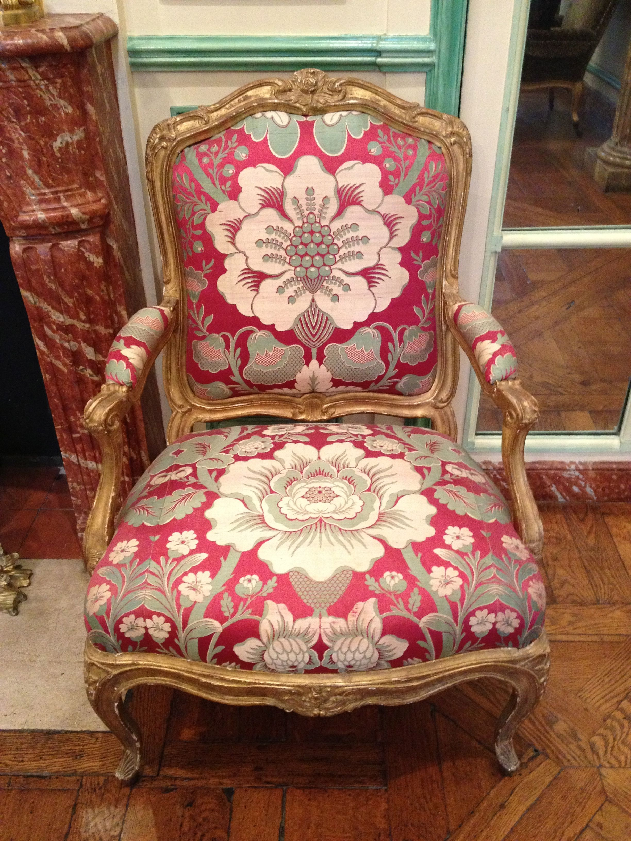 Louis XV Chair at Musée Carnavalet Paris