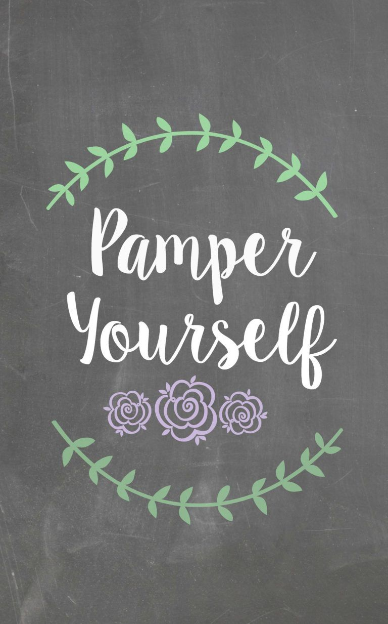 Pamper Yourself Gift Basket Pampering Quotes Spa Quotes Pamper