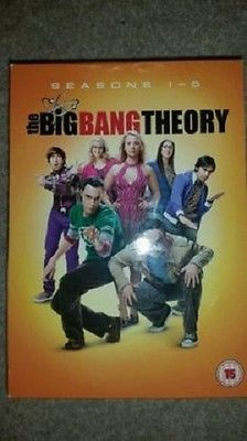 The big bang #theory - #complete series 1-5 - season #1-2-3-4-5 - dvd -r2 -vgc  m,  View more on the LINK: http://www.zeppy.io/product/gb/2/142074294334/