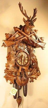 Hunting Cuckoo Clock Large Musical 8396 Cuckoo Clock Clock Large Clock
