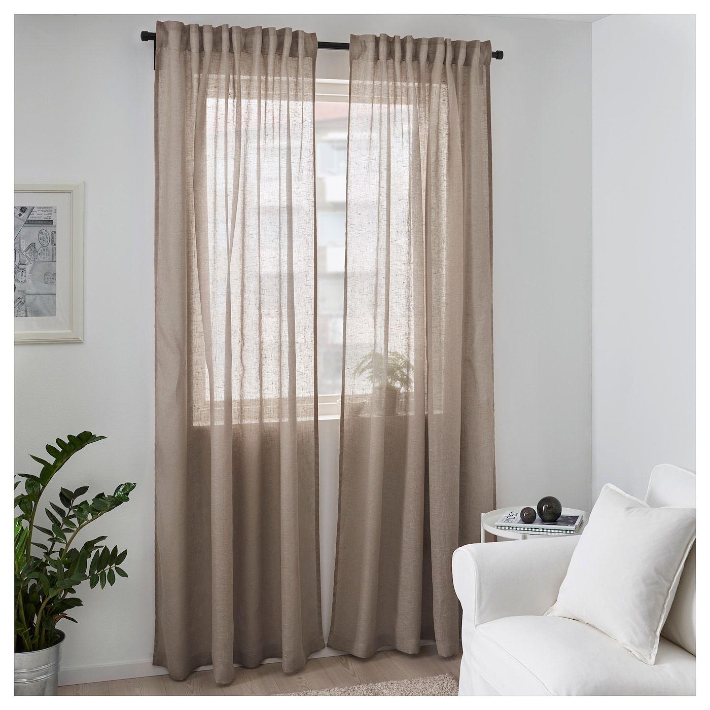 24 Wohnzimmer leinen gardinen ikea
