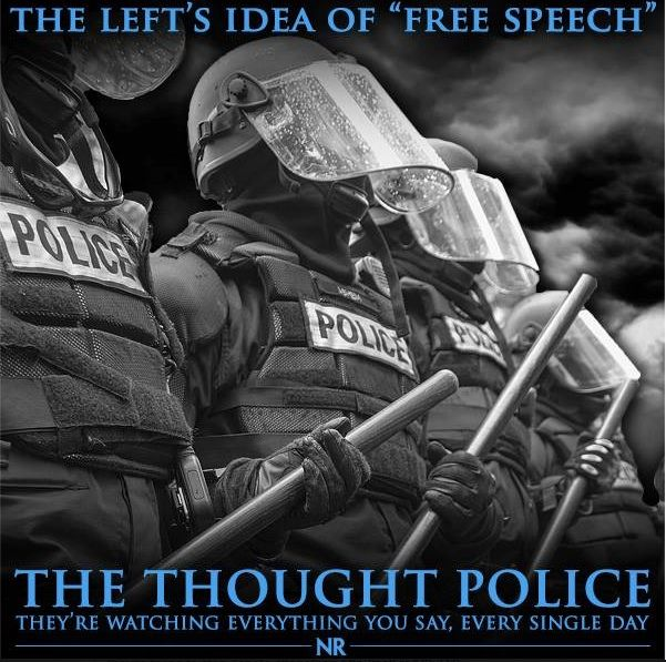 Leftist Thought Police emboldened and on a tear - Patriot Update