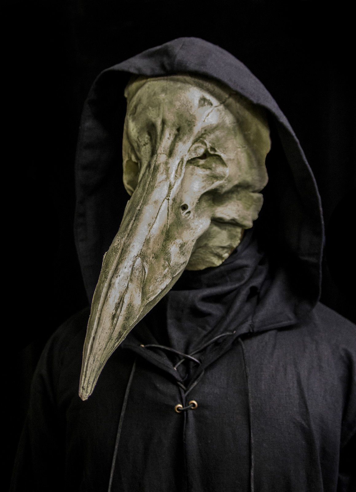 Details about The Reaper (white) plague doctor mask | Plague ...
