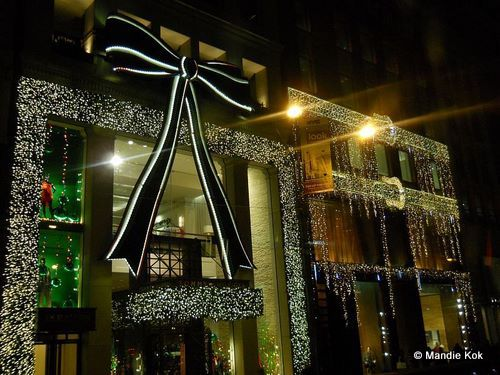 New York City Holiday Lights Tour & New York City Holiday - LOVE the BOW! Gorgeous. | Always Better with ...