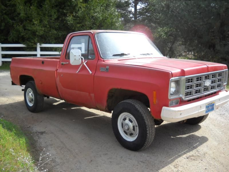 1978 Chevy 4wd 3 4 Ton Ranch Truck Or Pirate4x4 Com 4x4 And