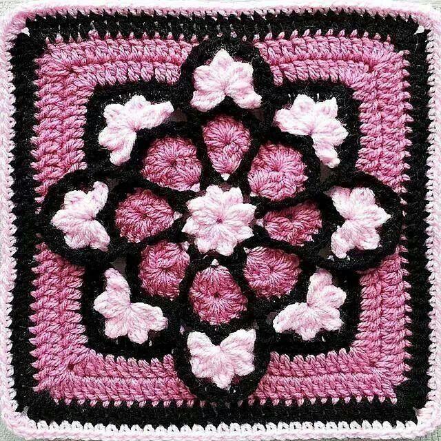 eleonora betulla | GRANNY SQUARES ll | Pinterest | Crochet, Granny ...